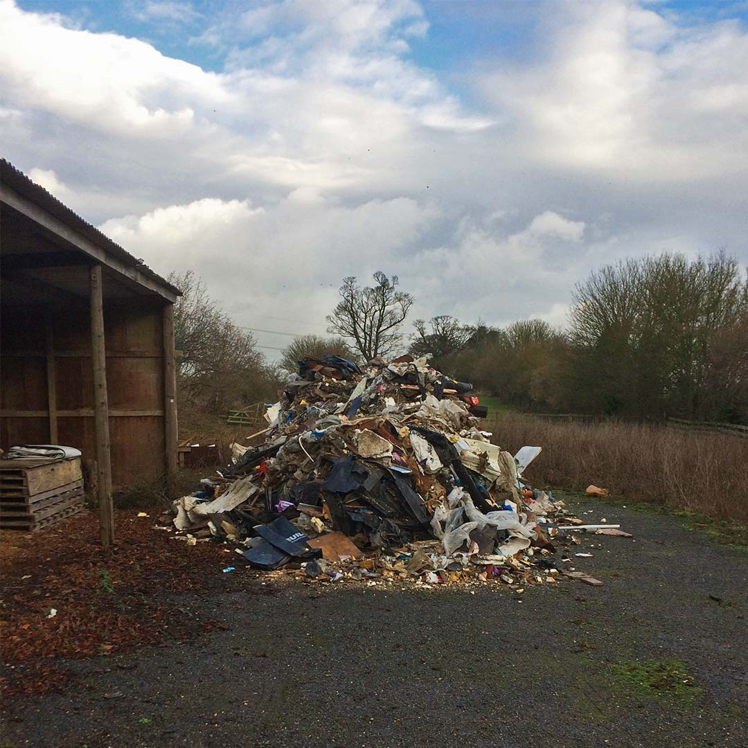 Dunmow Group - Fly tipping - Main body