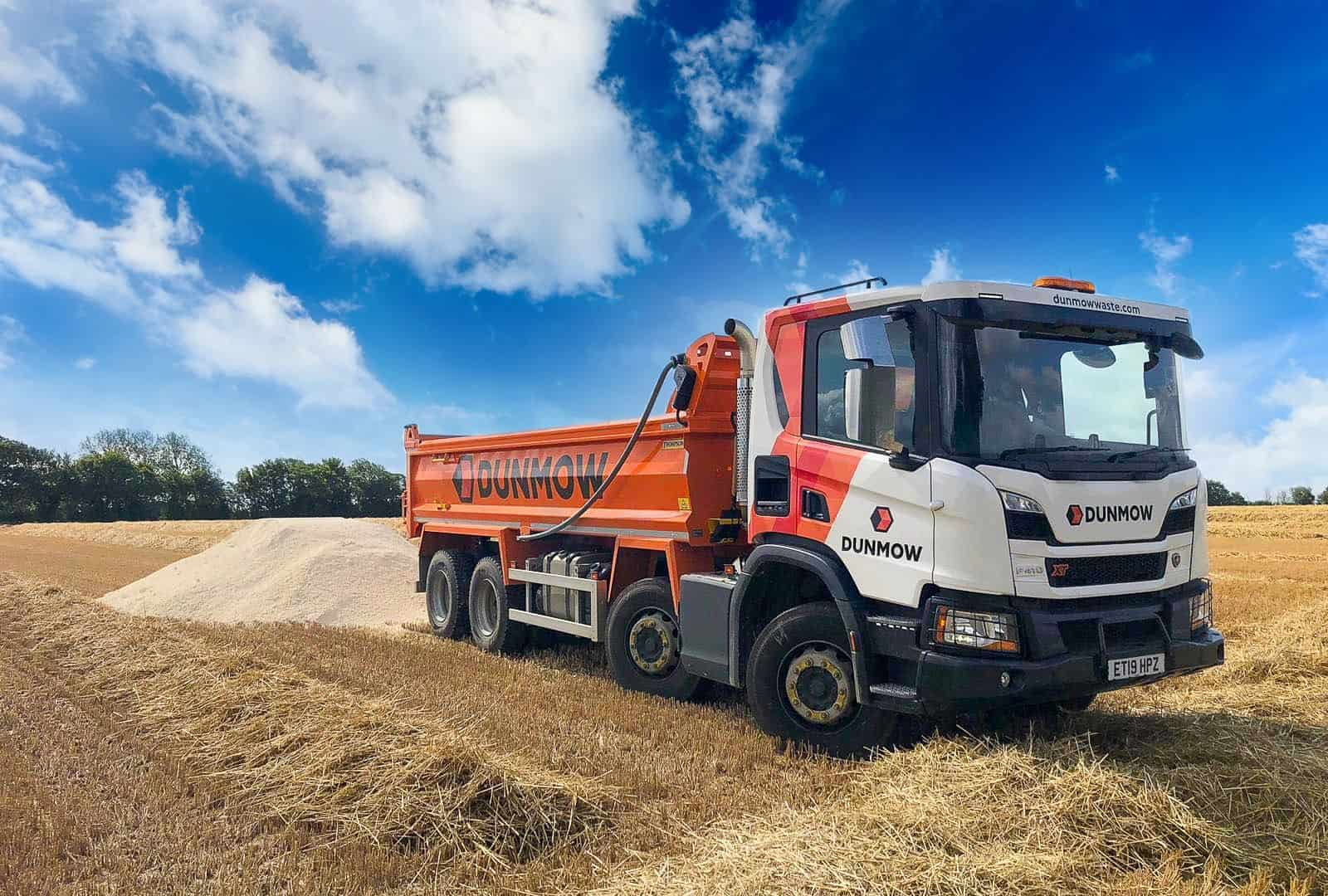 Dunmow Group - Tipper Hire - 01